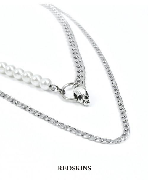 Set perla y acero (SKULL)