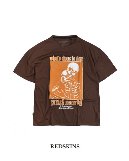 Camiseta cruel world...